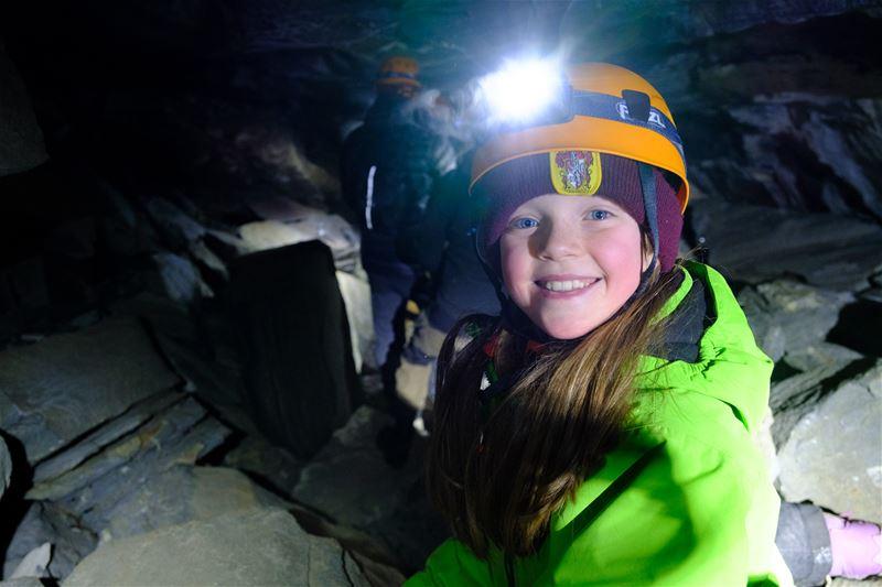 Grottetur på Fjellkysten